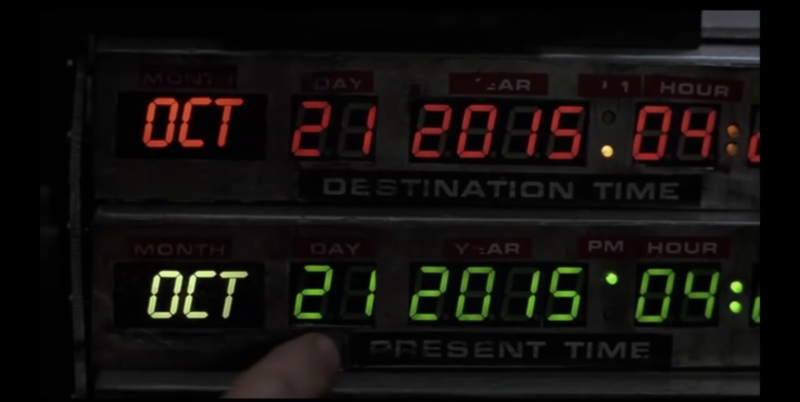Back to the Future - October 21, 2015